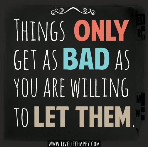 Don't Wait For Bad Things To Happen