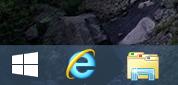 The Start button of Windows 8.1